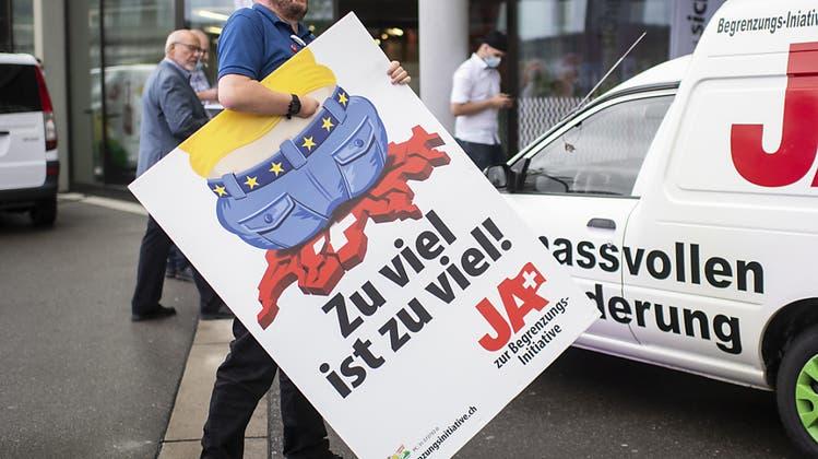 Begrenzungsinitiative: ein zu hoher Preis für Aargauer SVP-Unternehmer