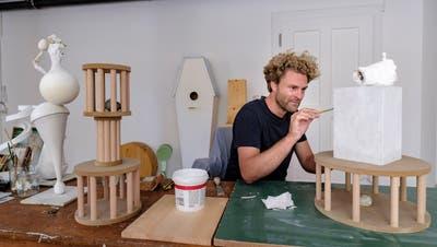 Achtung, frisch gestrichen: Hausbesuch in den neuen Ateliers