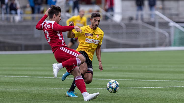 Lockerer Sieg: Der FC Baden schlägt einen schwachen SC Goldau gleich mit 4:0