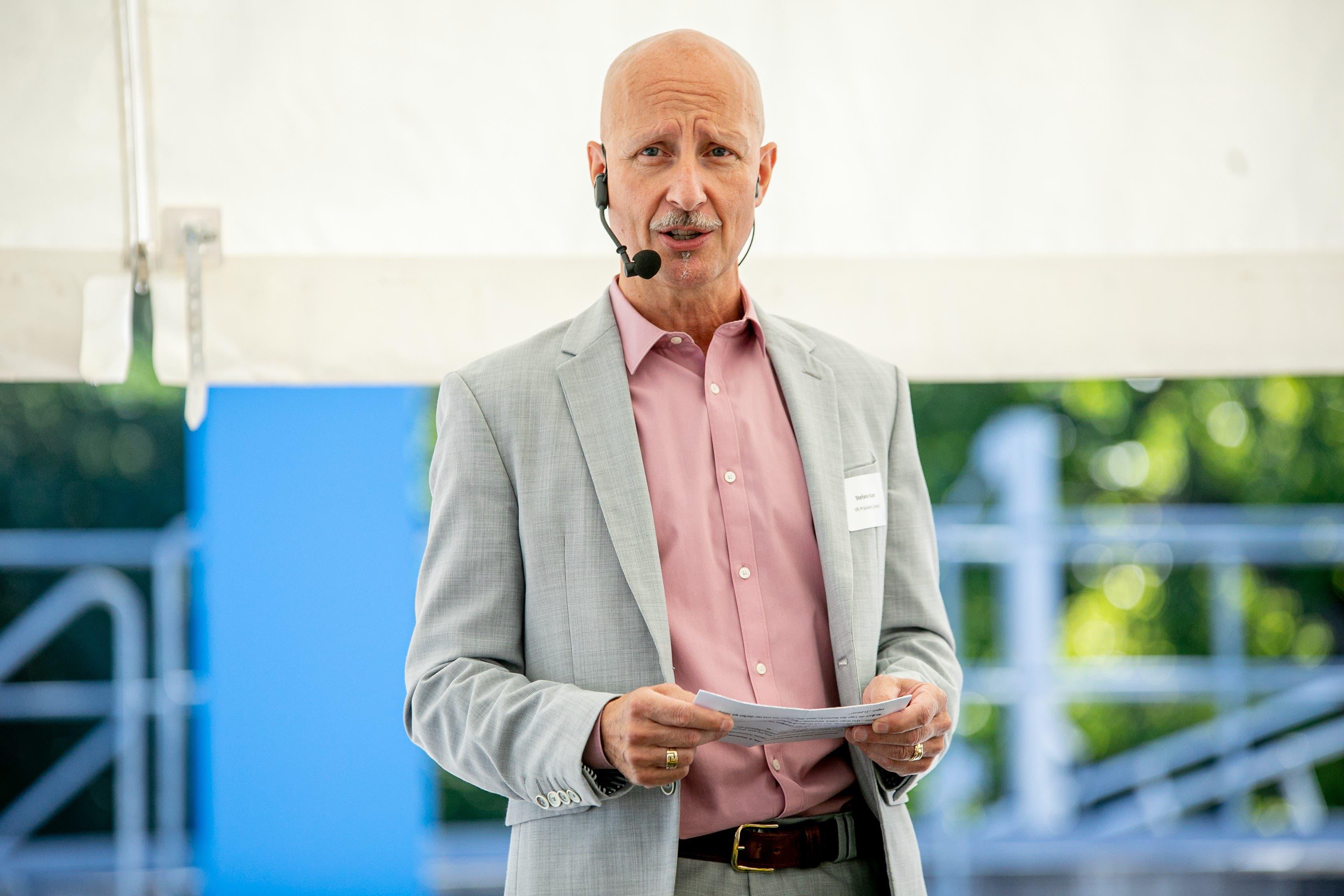 Der Schlieremer Stadtrat Stefano Kunz ist Limeco-Präsident.