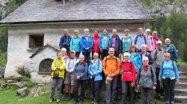 Bergwandergruppe Olten - Wanderung vom Gigerwald-Staudamm zur Walsersiedlung St. Martin