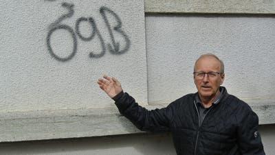 Gemeindeliegenschaften mit Sprayereien «verschandelt»