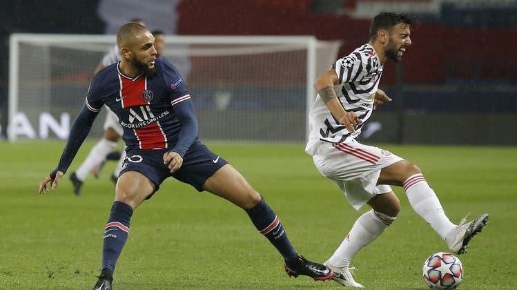 Zum CL-Auftakt feiert Manchester United einen 2:1-Sieg bei Paris Saint-Germain