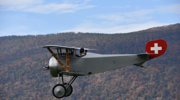 Einst eines der modernsten Jagdflugzeuge: Jungfernflug der nachgebauten Nieuport ist geglückt