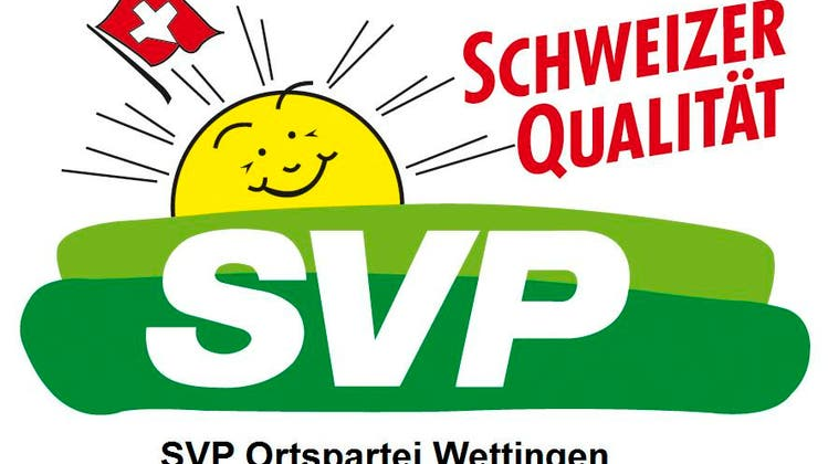 Wettinger SVP Dream-Team: Herzliche Gratulation Michaela Huser und Daniel Notter!