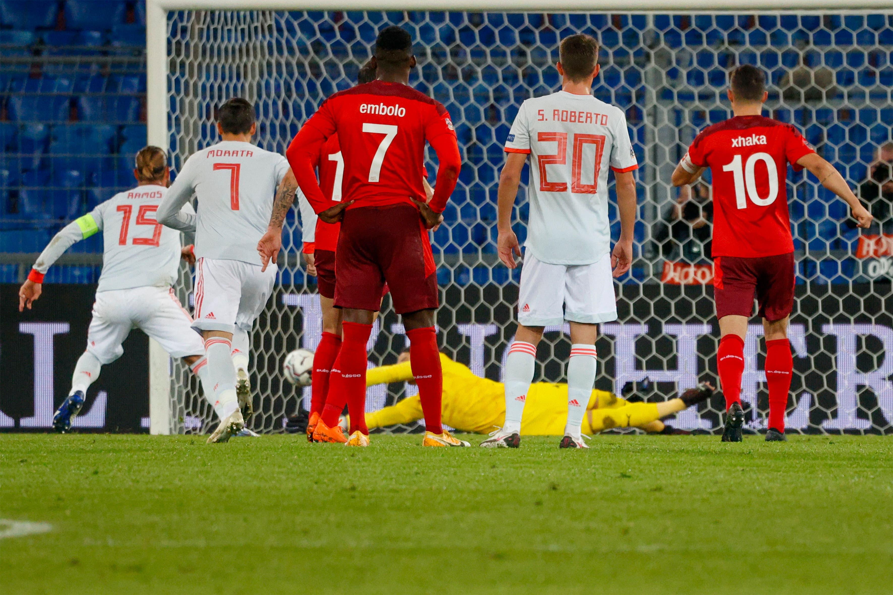 Ramos-Penalty 1: Gehalten.