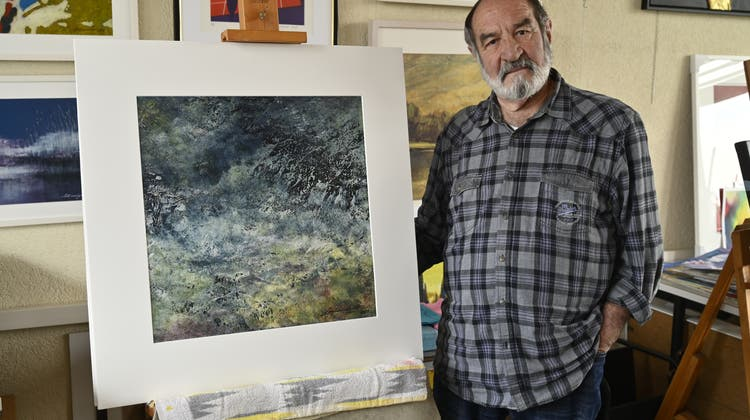 Inspiriert von Wasser und Natur: Bettlacher Markus Leibundgut stellt seine neuesten Werke aus