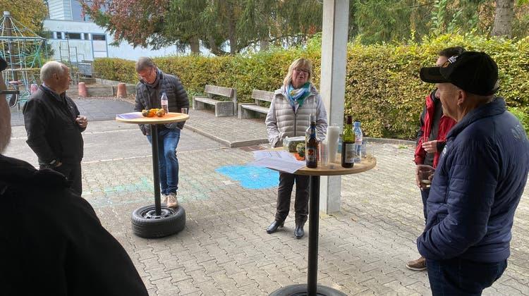 Grossratswahl, Wahlapéro der CVP Niederwil-Nesselnbach