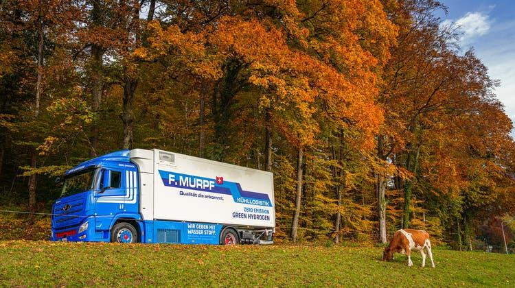 Transport mit Null Emissionen: Zwei Solothurner Unternehmen wollen in Zukunft mit Wasserstoff ausliefern