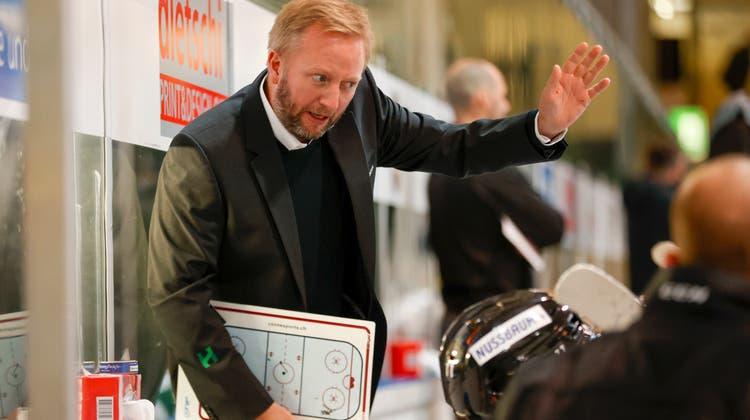 """EHCO-Trainer Fredrik Söderström nach der 3:4-Derbyniederlage: """"Das zeigt mir, dass wir doch eigentlich die Qualität haben"""""""