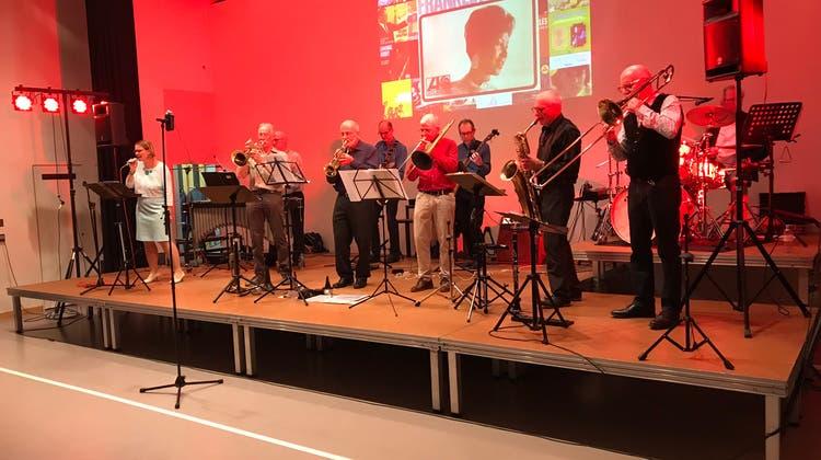 "Kulturkreis Däniken präsentierte Konzert mit ""Crossbeat"" - The Little Big Band"