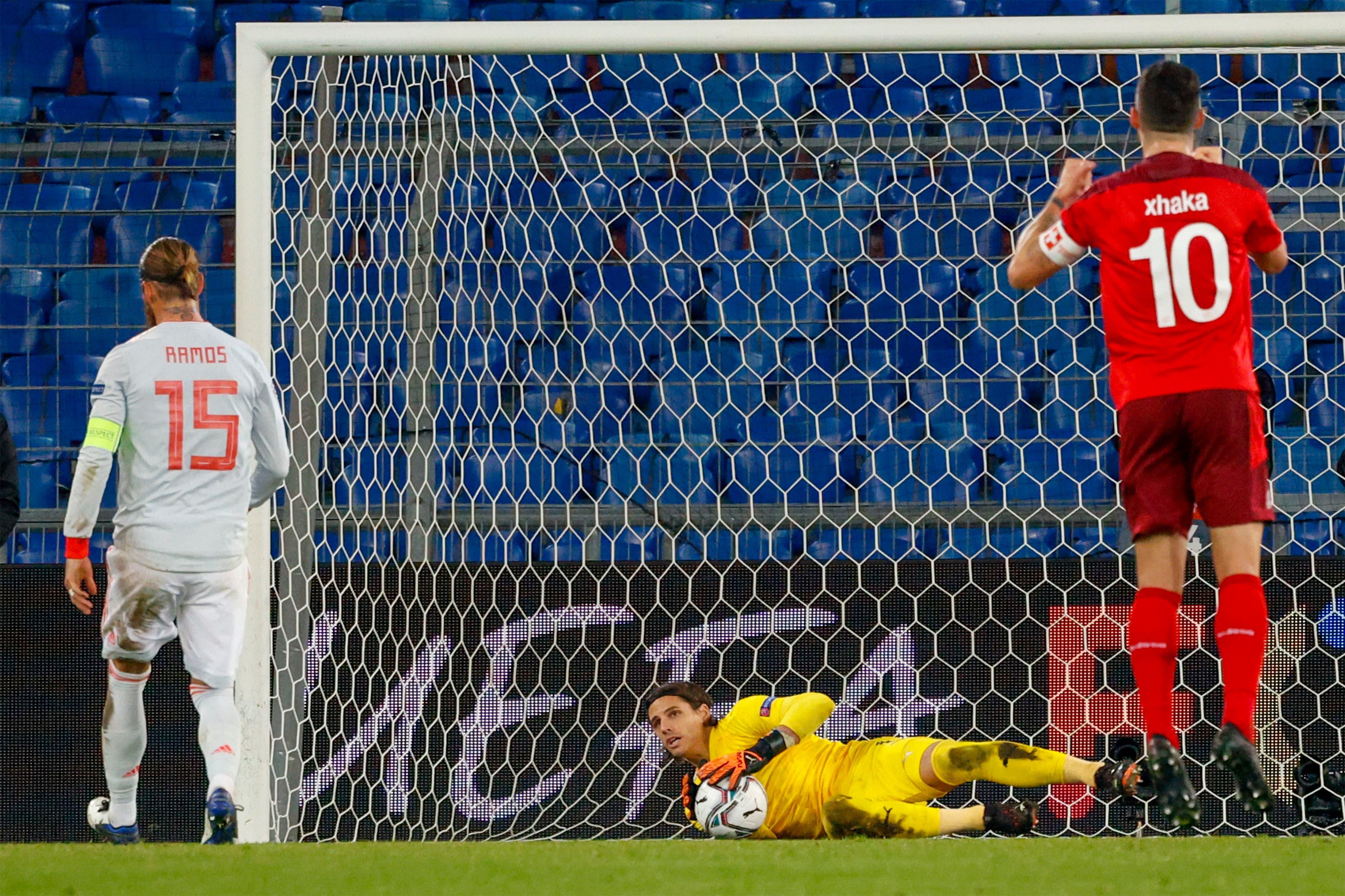 Ramos-Penalty 2: gehalten.