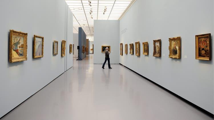 Emil Bührle erkaufte sich eine Kunstsammlung von Weltrang, finanziert durch Waffengeschäfte. (Keystone)