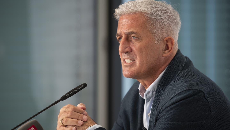 Nati-Trainer Vladimir Petkovic will unbedingt in Liga A der Nations League bleiben. (Bild: Keystone)