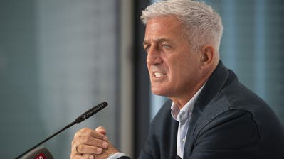 Nati-Trainer Vladimir Petkovic will unbedingt in Liga A der Nations League bleiben. (Bild: Keystone)