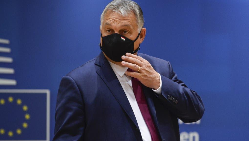 Im Widerstands-Modus: Ungarns Ministerpräsident Viktor Orban. (Key)
