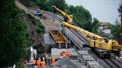 Am 13. Dezember soll die Strecke zwischen Zug und Arth-Goldau wieder befahren werden. (Bild: Stefan Kaiser (Zug, 15. Juni 2020))