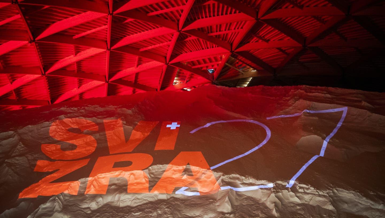 Das Logo der Landesausstellung Svizra 27. (Keystone)