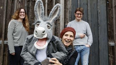 Herr Fässler wird besinnlich: Ein liebenswert-kauziger Esel steht im Zentrum des neuen Frauenfelder Weihnachtsspiels
