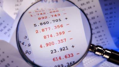 Fast eine Viertelmilliarde Franken im Minus: Die kantonsrätliche Finanzkommission ist vom operativen Ergebnis im Budget 2021 wenig angetan. (Symbolbild: Fotolia)