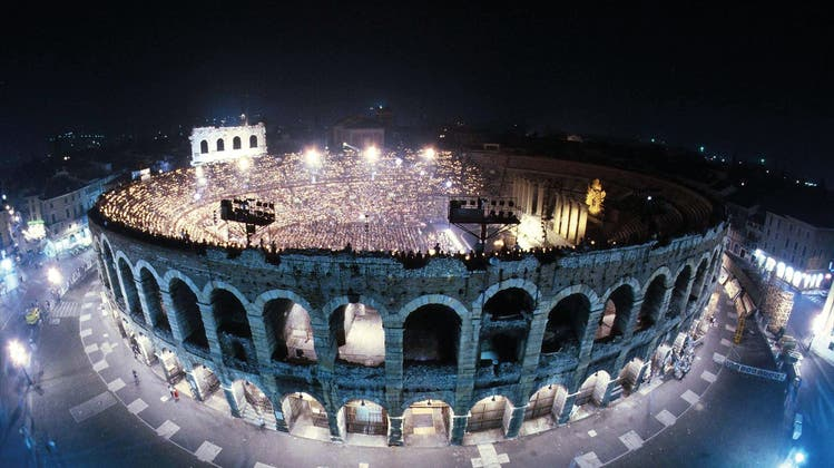 Opernfestspiele Verona - August 2021