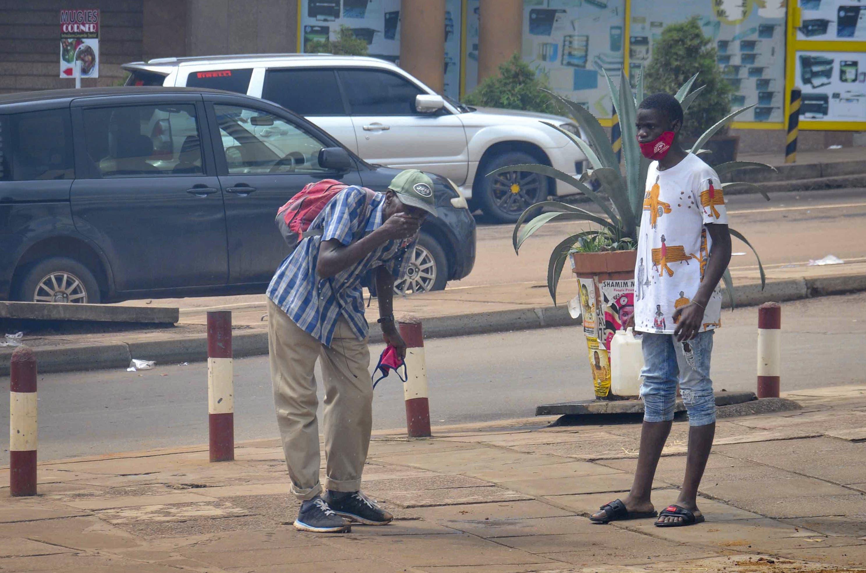 Entrüstung in den Strassen der Hauptstadt Kampala.