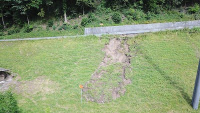 Sommerliche Unwetter haben die westliche Bergstrasse arg in Mitleidenschaft gezogen. (Bild: Stadt Luzern)
