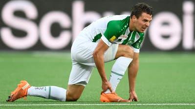 Lukas Görtler wird am Sonntag nicht gegen Lausanne spielen können. (Bild: Urs Lindt/Freshfocus)