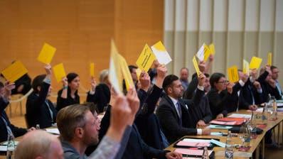 Das Gossauer Stadtparlament tagt jeweils imFürstenlandsaal. (Urs Bucher (4. April 2019))