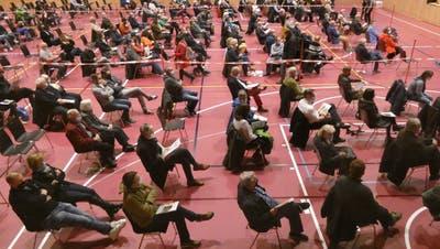 Das Stimmvolk lehnt das Budget 2021 und eine Strassensanierung ab