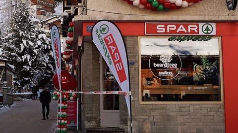 Seit Dezember 2019 ist Spar auch im Wallis: Spar Express in Zermatt.