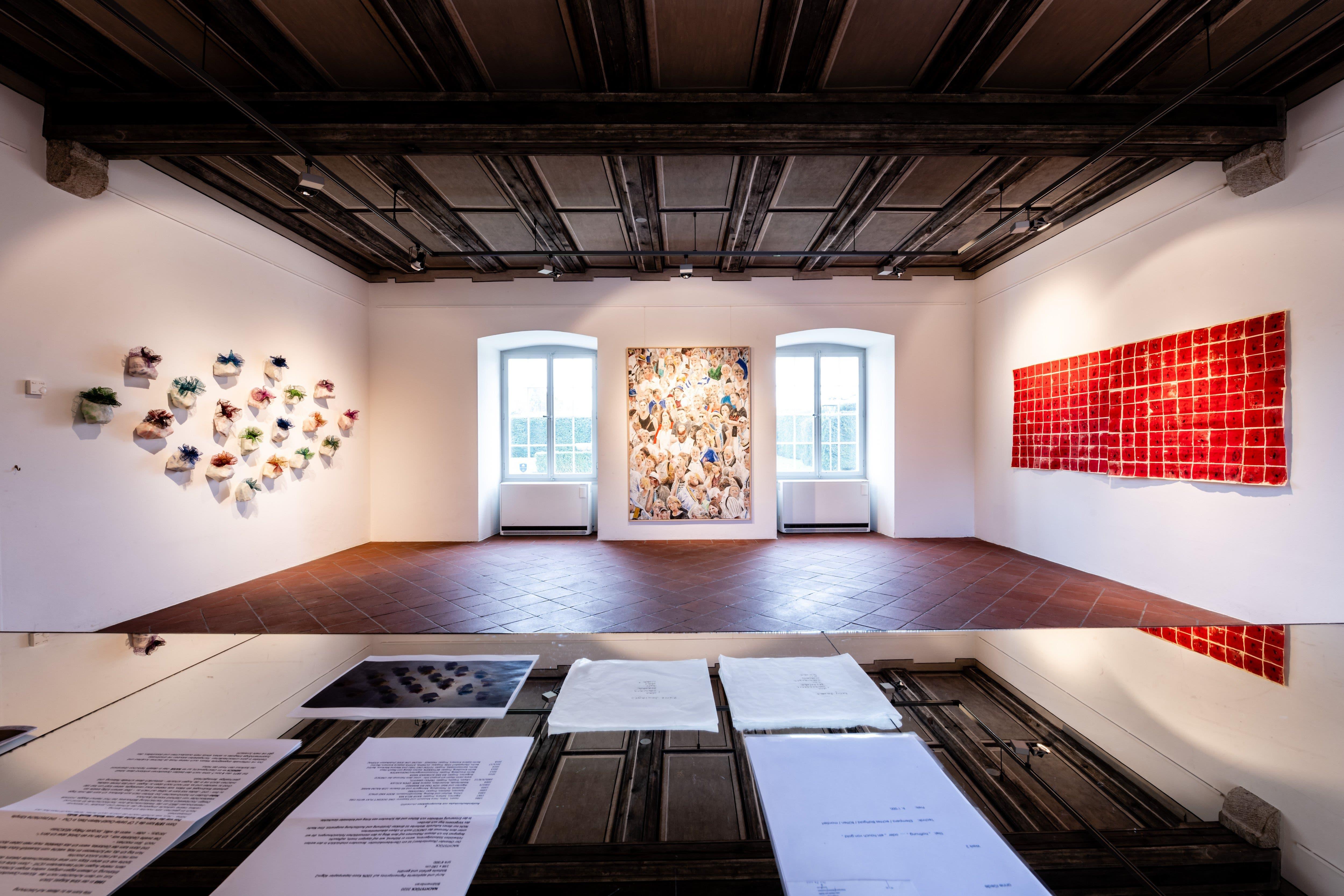 Rund 100 Arbeiten der Mitglieder von Visarte, Sektion Solothurn sind im Schlösschen in Biberist zu entdecken.