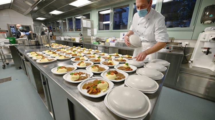 Restaurant Parktheater kocht nicht mehr für die Spitex wegen Kurzarbeit