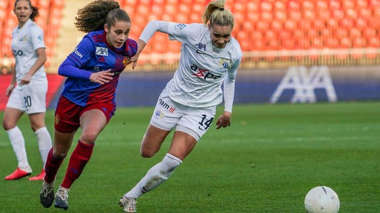 Erst nach der Pause ebenbürtig - FCB Frauen verlieren in Zürich