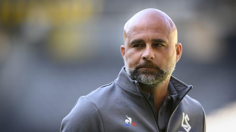 Giorgio Contini steht bei Aufsteiger Lausanne an der Seitenlinie. Früher war er Trainer des FC St.Gallen. (Bild:Anthony Anex/KEYSTONE)
