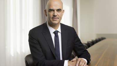 Bundesrat Alain Berset ist Opfer eines Erpressungsversuchs. (Gaetan Bally / KEYSTONE)