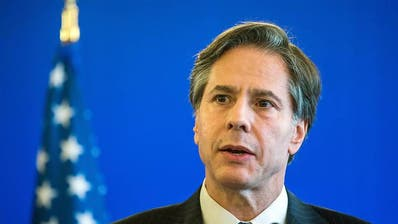 Antony Blinken bei einem Treffen. Foto: Jens Büttner/dpa-Zentralbild/dpa