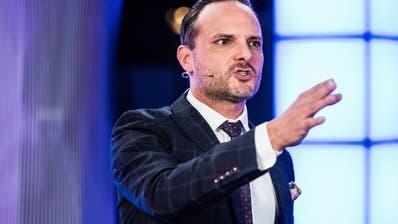 Umstrittene Show: der Komiker Dominic Deville. (SRF / Aargauer Zeitung)