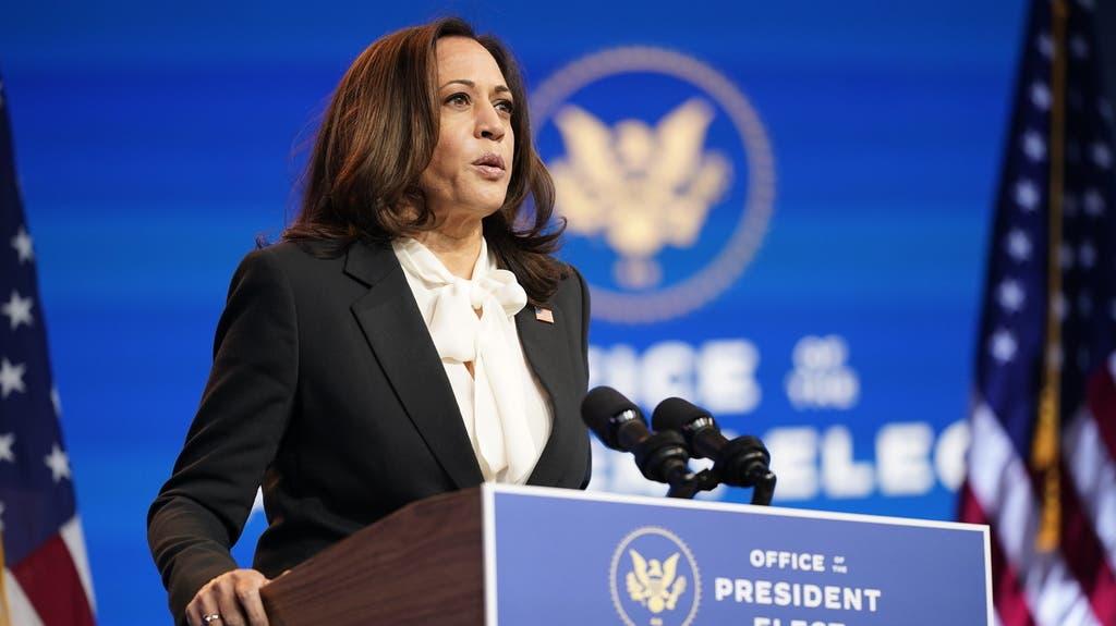Die erste US-Vizepräsidentin der Geschichte: Kamala Harris zieht am 20. Januar mit Joe Biden nach Washington und wird die engste Beraterin und Vertraute des Präsidenten sein.