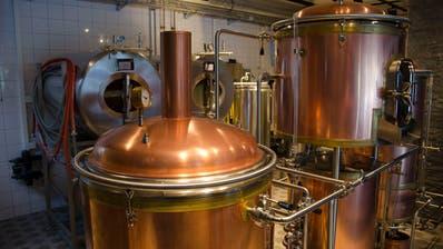 Die Coronakrise trifft auch die Brauereien. Im Bild ist die Brauerei Mettmenstetten im Kanton Zürich zu sehen. (Zvg / Anzeiger Bezirk Affoltern)