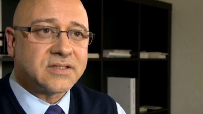 Alain Bersets Anwalt Patrik Eisenhut im Gespräch mit dem Schweizer Radio und Fernsehen. (Screenshot SRF)