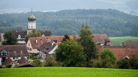 Blick auf Herdern mit dem Schloss. (Bild: Reto Martin)