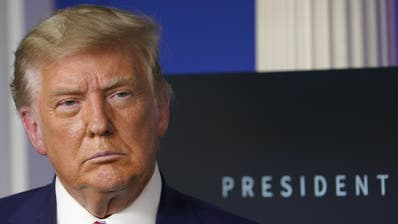 Der abgewählte US-Präsident Donald Trump. (Keystone)