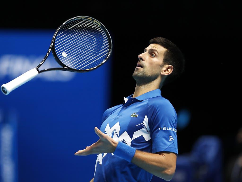 Die Grossen mussten hingegen die Segel streichen: Novak Djokovic verlor gegen Thiem im Tiebreak des dritten Satzes