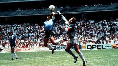 Die Stationen von Fussballlegende Diego Maradona