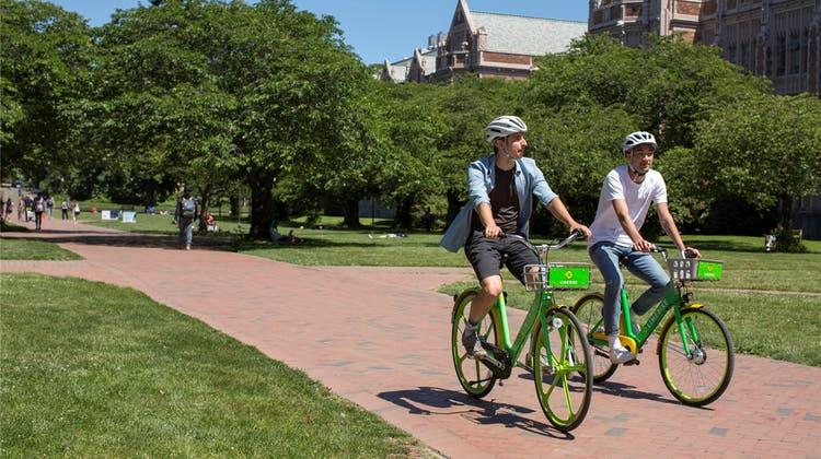 Nach missglücktem Versuch: Lime bietet 100 E-Bikes zum Verleih an