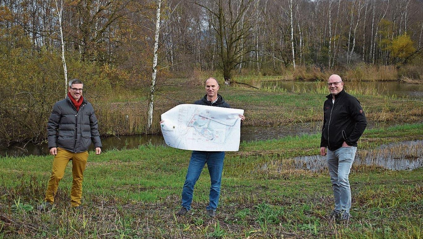 Das Oberrieter Naturschutzgebiet wird umfassend saniert