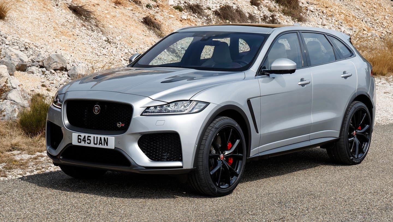 Jaguar F-Pace SVR. (Bild: HO)