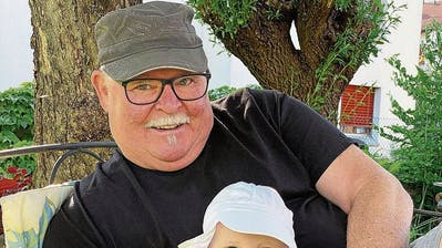 Werner Keckeis, 66†, mit seiner Enkeltochter, 1. (Privat)