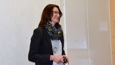 Schulpräsidentin Maike Scherrer führte durch die 70-minütige Versammlung. (Bild: Christoph Heer (Mettlen, 24. November, 2020))